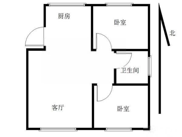 武林广场地铁口小北门 杭州游泳馆 胭脂新村 标准两房 可月付