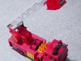 仿真电动遥控四通小型消防车玩具救火车云梯