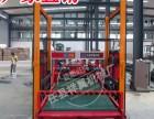 河北木工机械厂自主研发全自动数控铺板机,带裁切铺板机价格