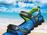 厂家直销儿童凉鞋男童新款 2015夏季大童品牌沙滩鞋时尚学生凉鞋