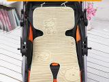 天小熊【亚麻】单层婴儿推车席、伞车席、童车席、推车垫