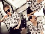 Z2222夏季新款半袖夏装女士蝙蝠t恤短袖 韩版宽松学生打底女小