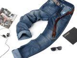 美特斯邦威经典款男式牛仔裤 韩版专柜正品纯棉牛仔裤男代理加盟