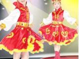 儿童舞蹈演出服装女表演服蒙古族服装藏族裙民族舞少数民族舞蹈裙