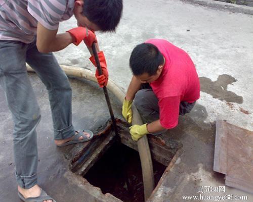 唐山高压清洗管道 清理化粪池 抽粪吸污