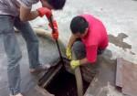 昆明书林街清理化粪池 清洗管道抽粪 掏隔油池 疏通下水道.