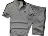 2015新款休闲运动短袖五分裤套装T恤时尚品牌男士运动服套装15
