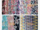 厂家直销2015新印花雪纺服装面料 化纤布料批发 女装连衣裙衬衫