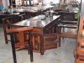 老船木小茶桌椅组合实木客厅茶几简约中式户外榆木阳台功夫茶台