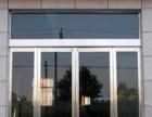 南昌市康家家政不锈钢门框 GMT地弹簧玻璃门安装维