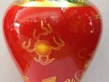 陶瓷酒瓶专业定制黑釉梅瓶陶瓷酒瓶加工生产