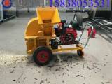漳州黑龙江柴油机木屑粉碎机-柴油机带粉碎机产品说明