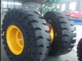 龙宫装载机实心轮胎26.5-25超耐磨