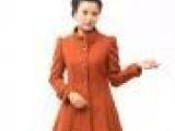 欧美风格女士羊绒大衣,高档时装系列