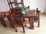 厂家直销沉船木阳台休闲茶桌椅组合
