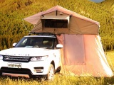 家庭户外折腾伸缩手动式大空间露营车顶帐篷