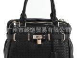 新款春夏女包潮包/韩版手提包包/编织包单肩休闲包厂家直销