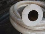 河北衡水真空橡皮管 抽真空管 白橡胶管子 吸真空专用