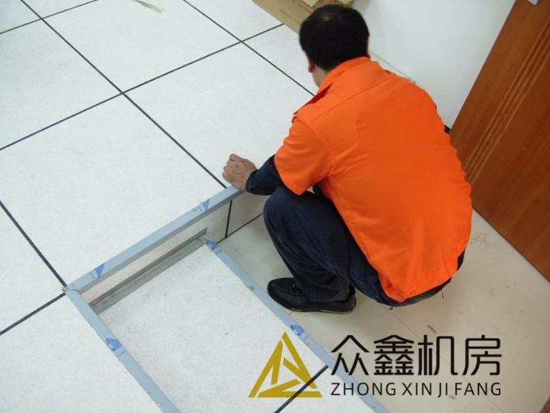 西安全钢pvc防静电地板厂家 陶瓷防静电地板优点