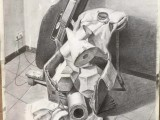 北京高考美术,北京零基础素描培训班路易美术培训画室,由清华教