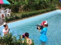 千年古坝农家乐免费游泳、绿色果蔬采摘好吃又好玩