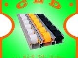 供应钣金流利条|41MM宽滑轨流利条|线棒货架流利条配件厂家