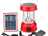 太阳能野营灯 3W 太阳能马灯 太阳能应急灯 带USB充电及收音