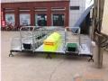 猪场连体装双体母猪床养猪设备