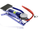 便携式脚踏打气筒 汽车便携脚踩打气泵 电动车打气筒 脚踩