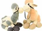 创意情侣毛绒礼品 卡通神兽羊驼公仔 可爱草泥马毛绒玩具厂家