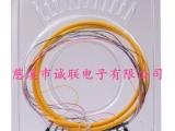 诚联供应电信级1.5米光纤尾纤 单模单芯FC12芯束状尾纤