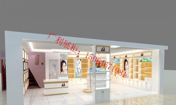 菏泽专业定制烤漆展柜厂、珠宝、化妆品烤漆展柜制作
