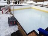 厂家加工定制高分子聚乙烯仿真冰板 溜冰场地板
