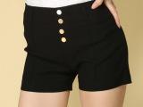 2014年糖果色多色薄款大码夏季韩版显瘦休闲裤短裤热裤潮