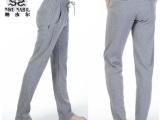 纳皮尔冬季运动裤男 休闲裤男装精梳棉加绒