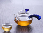 透明家用加厚耐热玻璃公道杯侧把功夫茶具配件分茶器