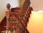 上海别墅高端楼梯设计崇明自建水泥实木楼梯雕花木楼梯