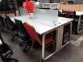 9成新二手办公家具,老板桌低价促销