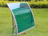 pc耐力板雨棚 窗户棚 遮阳棚