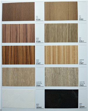 上海 进口波音软片韩阳 纯色膜木纹金属纹膜