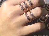 尚美巴黎18K金钻石婚戒对戒系列