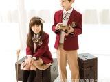 定制韩国童装中小学生贵族校服制服幼儿园园服秋冬英伦风西服套装