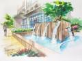 广西河池大化园林景观室内建筑考研快题班首选漓山手绘