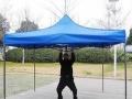 昆明尖顶帐篷大伞/领盾广告折叠帐篷印字