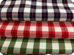 全棉色织高密格子斜纹磨毛布 衬衫 童装工