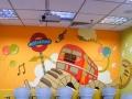 柳州罗阑墙绘-承接幼儿园、文化墙、餐厅手绘壁画