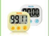 正品日本百利达电子计时器 TD-384厨房定时器 倒计时闹钟提醒