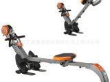 银冰划船器RM6500新款磁控划船器 家用健身器材可折叠