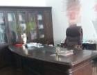 9成新老板桌及后面的柜子、会客沙发转让!!