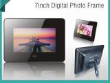 供应7英寸数码相框 7寸拉丝数码相册 超薄电子相框 支持电影播放